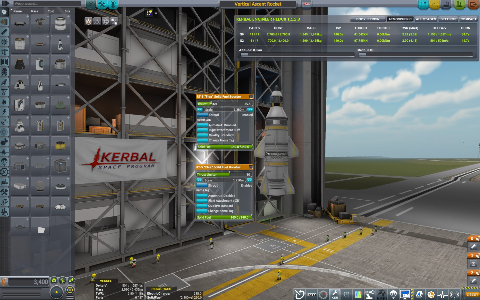 Тестовая ракета 2. Умеет в космос.