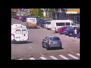 В Калининграде «Скорая помощь» насмерть сбила человека на пешеходном переходе
