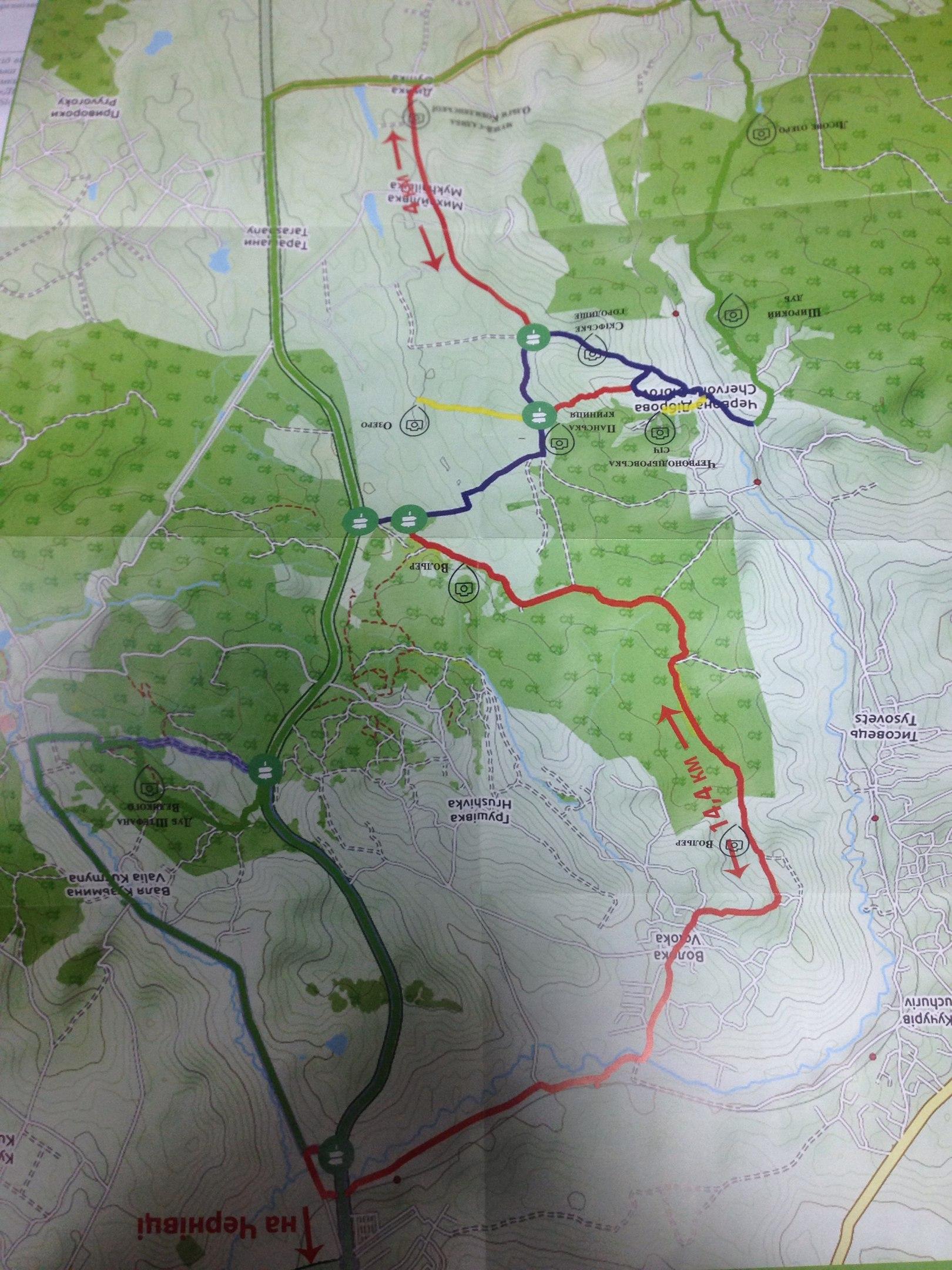 Велосипедний маршрут вихідного дня з'явився на Глибоччині