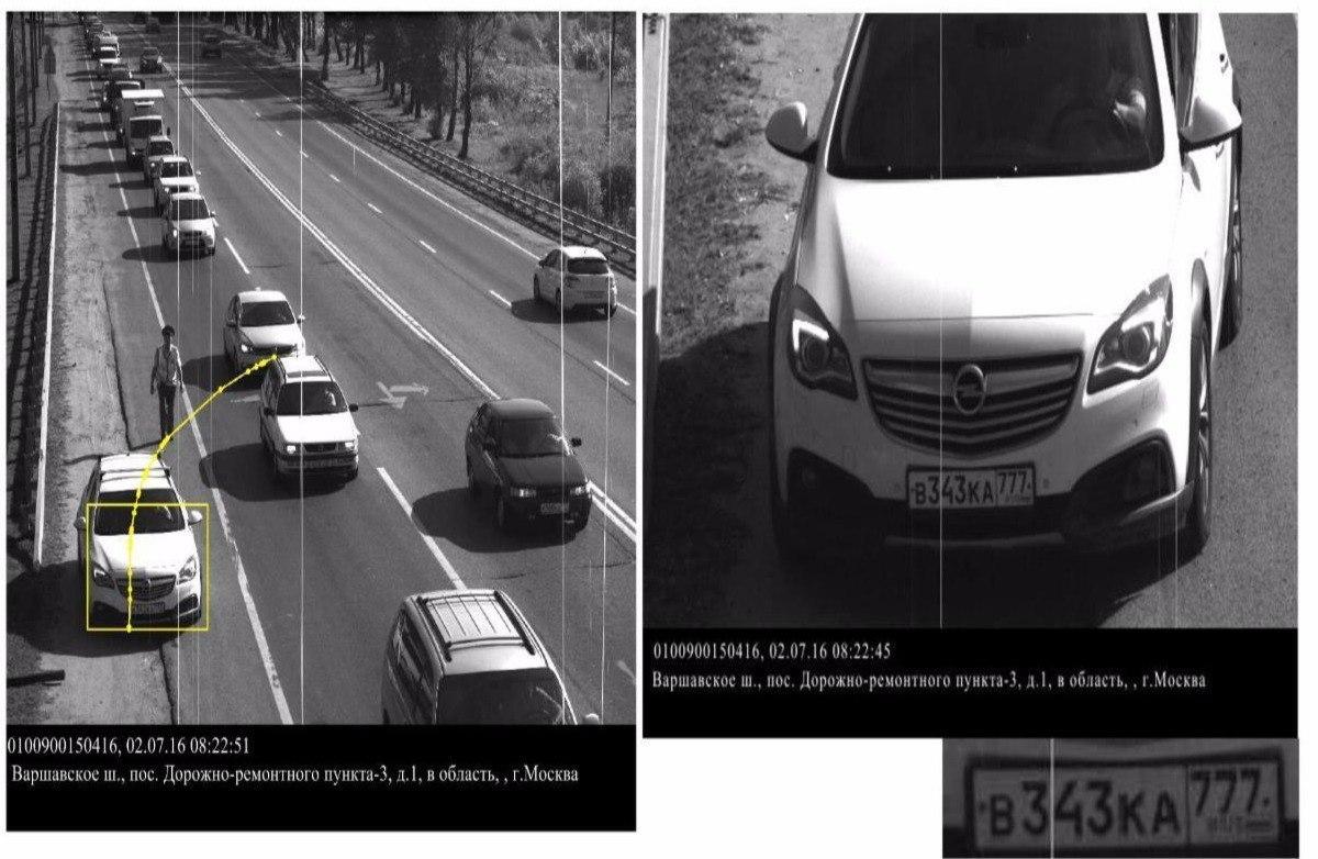 Камера оштрафовала водителя, остановившегося по требованию ГИБДД