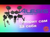 Электронная барабанная установка ALESIS COMMAND KIT - Когда инструмент говорит сам за себя!