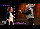 Jessi HO vs Lil Cham Unpretty Rapstar Battle 2 ENGLISH subs