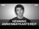 Henning von AnnenMayKantereit im 1LIVE Fragenhagel 1LIVE
