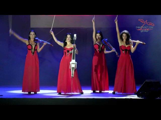 Electric string quartet Asturia 2012
