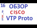 Обзор протокола Cisco VTP