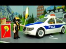 Мультики про машинки - полицейская и пожарная машина у видео Для детей - Пожар! Ра...