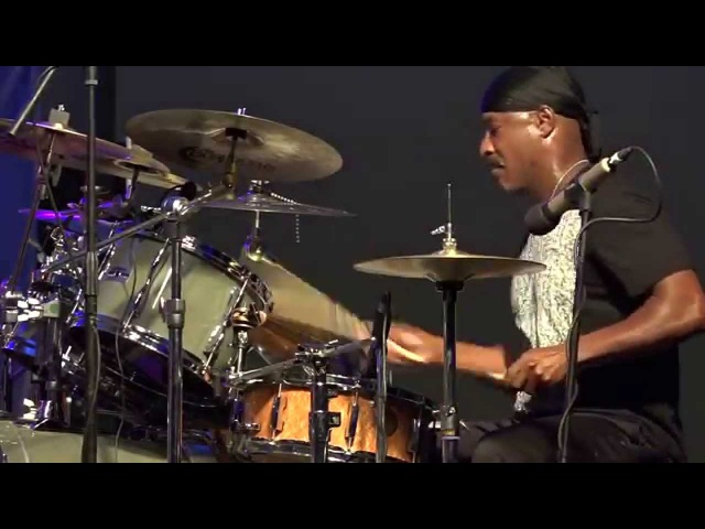 Sonny Emory Drum Solo Live at the Crown 2015