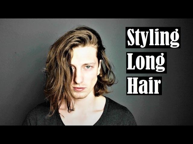 HOW TO STYLE LONG HAIR/ Hanz De Fuko Quicksand