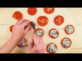 Пирожки с помидорами и сыром - Рецепты от Со Вкусом