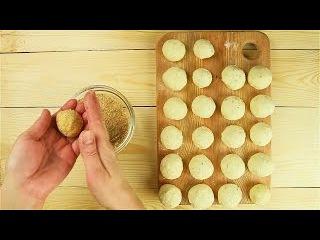 Домашние пончики с сыром - Рецепты от Со Вкусом