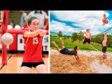 Funny Volleyball Videos 2016 | Funny Vines | Try Not To Laugh | Challenge