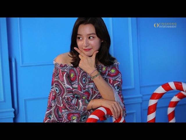 [배우 김지원] 판타스틱한 비주얼이 담긴 '신한카드' 광고 비하인드 영상