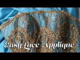 J Stern Designs l  Prom Gown Sew Along  Easy Lace Applique
