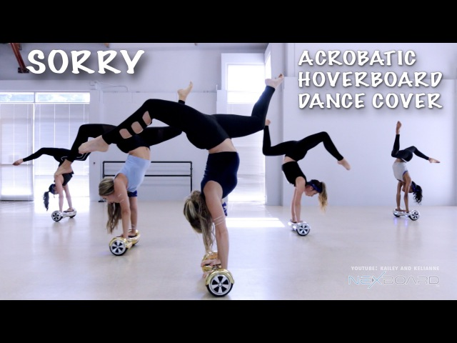 Sorry - Epic Acrobatic Hoverboard Dance Cover Acrobots @justinbieber