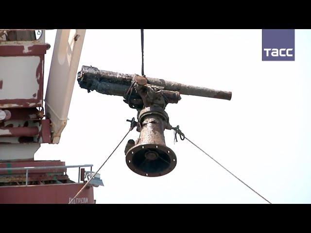Первую русскую зенитку подняли со дна Керченского пролива