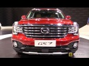 2018 GAC GS7 320T i4WD - Exterior and Interior Walkaround - Debut at 2017 Detroit Auto Show