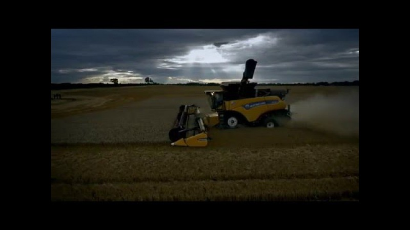 Комбайн NEW HOLLAND CR10.90 получил титул рекордсмена книги рекордов Гиннсса