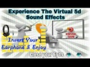 Experience the Virtual 5d sound Effect  | The Barber Shop | Amazing
