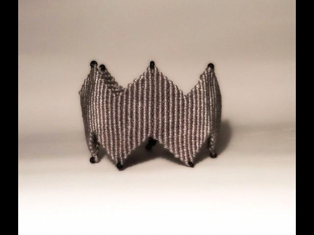 DIY Micromacrame Bracelet Part I | Βραχιόλι Μακραμέ με ZigZag Μέρος Ι Jewelry | IMAGINE HEARTS