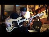 Супер техничное соло на бас гитаре