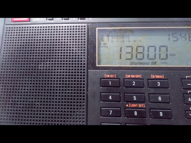 Radio Dabanga 13800 kHz Madagaskar (19/05/17)