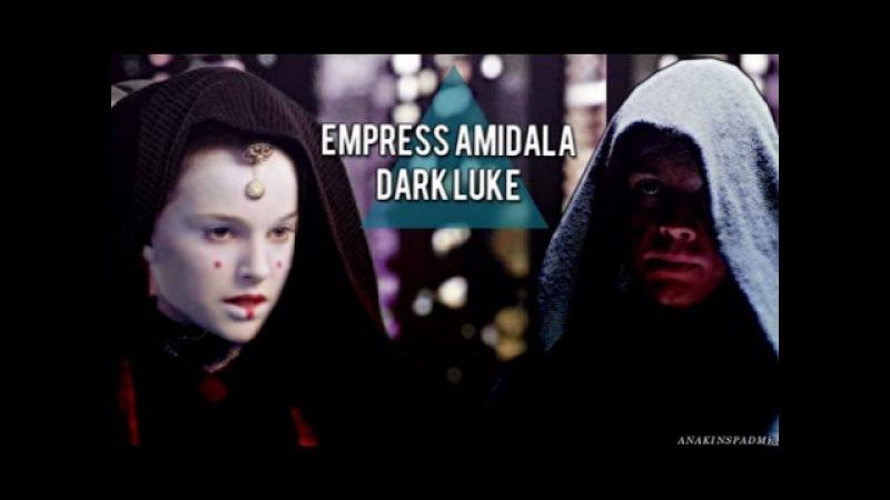 » dark luke empress amidala ( leia han) | into the darkness; vidlet.