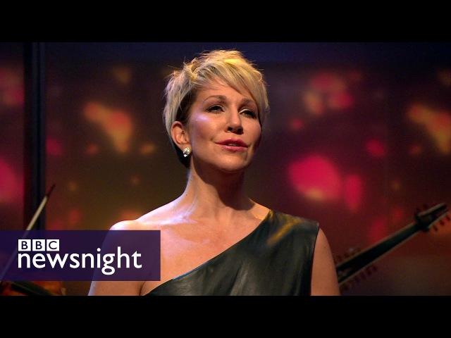 Joyce DiDonato performs Handels Lascia chio pianga live - BBC Newsnight
