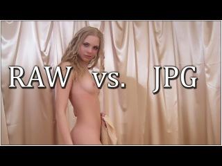 Формат RAW и JPG (JPEG) различия и преимущества (BW)