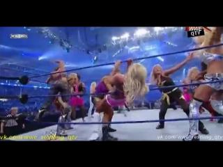 [WWE QTV]☆[WrestleMania  XXV][25-Diva Battle Royal]Layla vs Giovanni Mendes Fox Sunny Wilson Gayda Maria Kim Hall Torres Tiffany