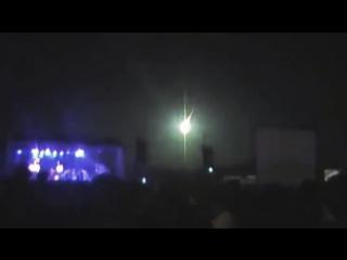 Метеорит озарил вспышкой небо на концерте в Аргентине
