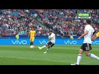 Австралия - Германия. Ларс Штиндль забивает быстрый гол (0:1)