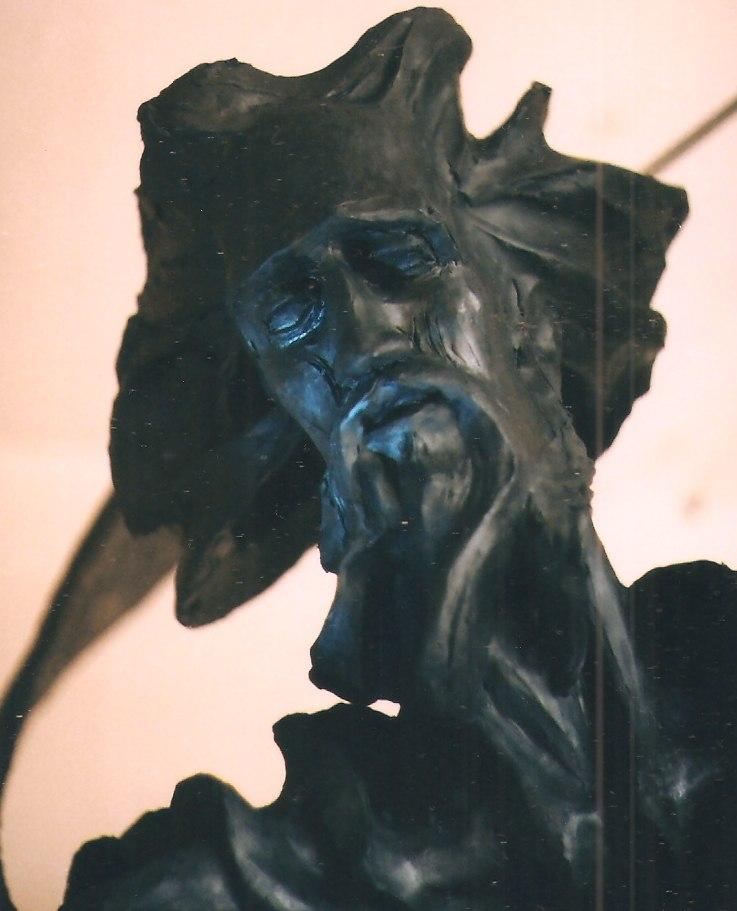 фото Скульптура Андрея Первозванного работы Вячеслава Чеботаря