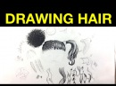 Tips on drawing hair with Pen Ink