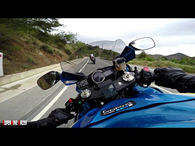 От первого лица. Suzuki GSX-R - The Best onboard moments