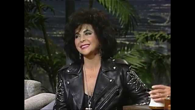 The Tonight Show With Johnny Carson { Feat. Elizabeth Taylor Michael Douglas 2/21/1992 }