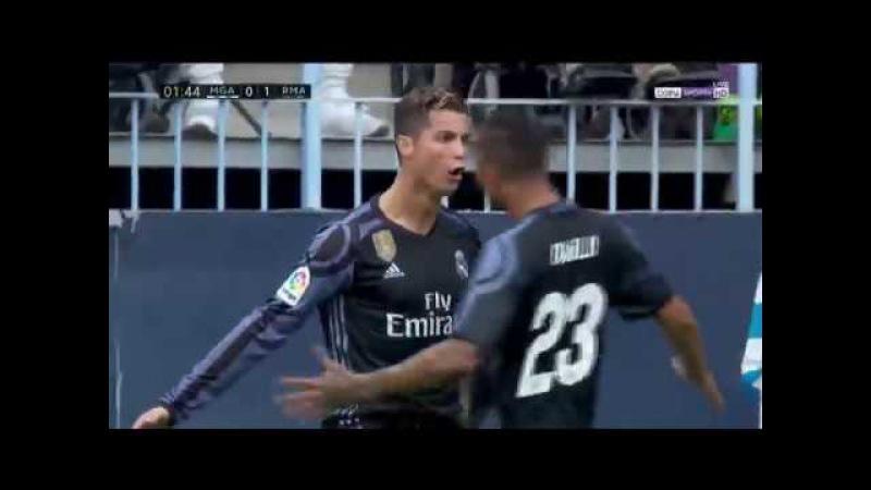 Malaga vs Real Madrid Full Match (1 half) 21.05.2017 HD English