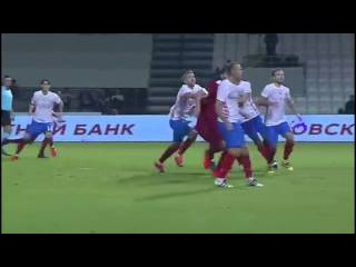 Катар - Россия 2:1 10.11.2016 Гол Будиафа