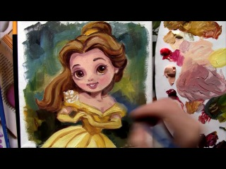 Draw Belle from