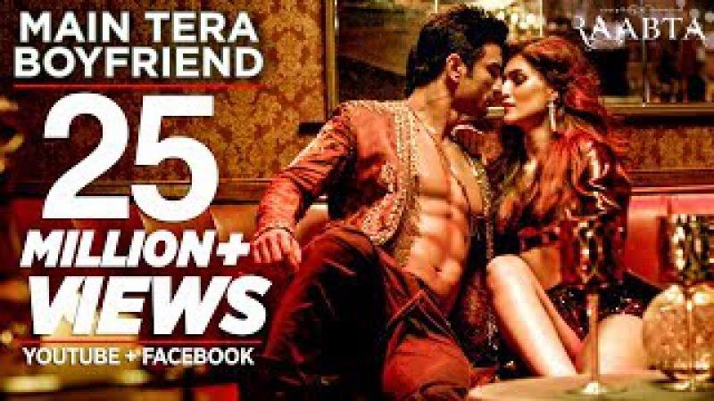 Main Tera Boyfriend Song   Raabta   Arijit S   Neha K Meet Bros   Sushant Singh Rajput Kriti Sanon