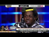 Lil Wayne &amp Wale Debate Stephen A. Smith On Redskins &amp Cowboys (FULL)