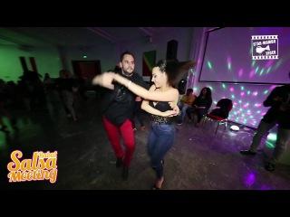 Orestes Romero Lopez & Ana Garica - Social Dancing @ Rabat Salsa Meeting 2016