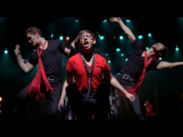 GLEE - Moves Like Jagger Jumpin Jack Flash (Full Performance) HD