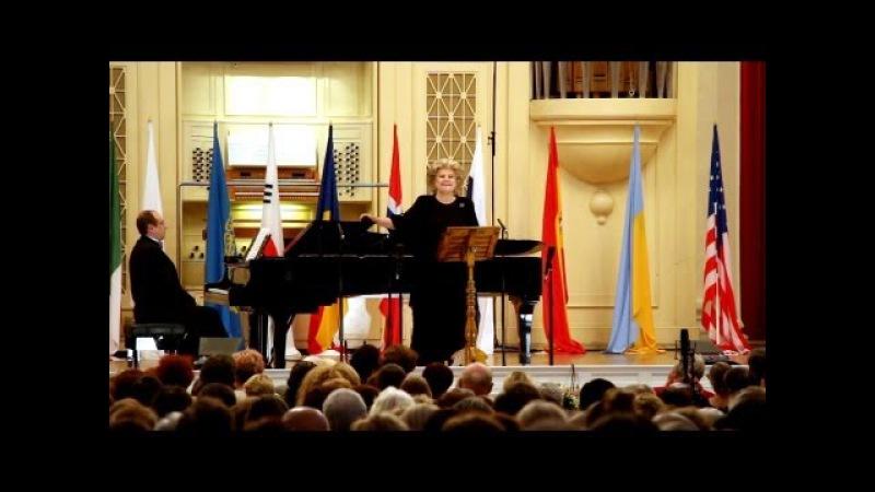 Elena Obraztsova (mezzo-soprano, Russia). CACCINI - Ave Maria