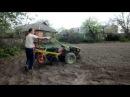 посадка картофеля картофелесажалкой с адаптером