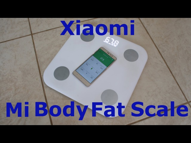 Обзор умных весов Xiaomi Mi Body Fat Scale (Mi smart scale 2)