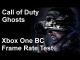 Call of Duty Ghosts Xbox One vs Xbox 360 Backwards Compatibility Frame Rate Test