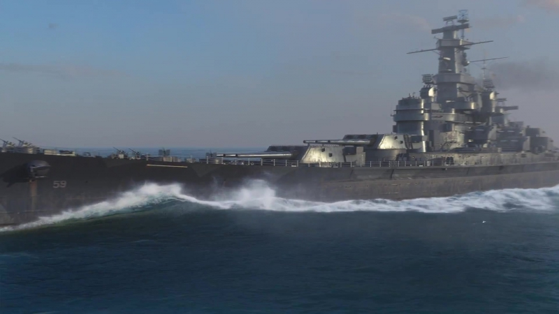 Морские легенды. Линкор USS Massachusetts (BB-59)