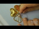 ВЫШИВКА ПО НАСТИЛУ из веревки - GOLDWORK- Embroidery on decking rope