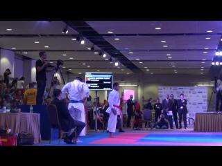 PKF 2017 - Male Kata Final - Casanova vs. Diaz