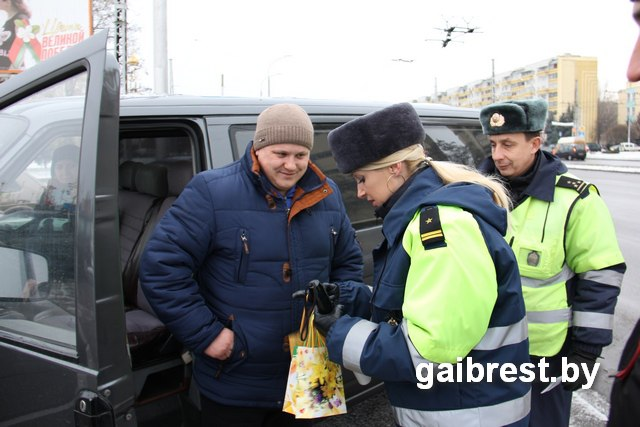 ГАИ проверила автомобили на готовность к эксплуатации зимой